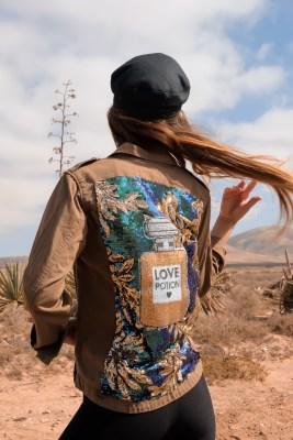 Tosca Boho Bohemian Design Couture Jacket