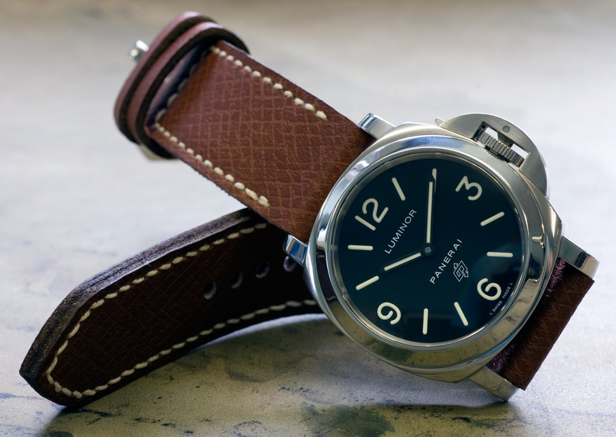 Metta leather on a Panerai zero