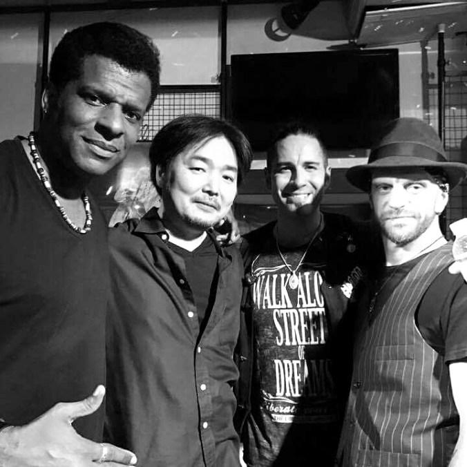 Mike Marrington Drum Vocal Lenzie Crosby Bass Luke Cuerden Guitar Toshi Maezawa Key