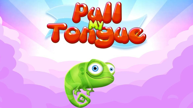Gry mobilne na podróż - Pull my Tongue