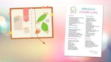 Bullet journal pomysły na listy