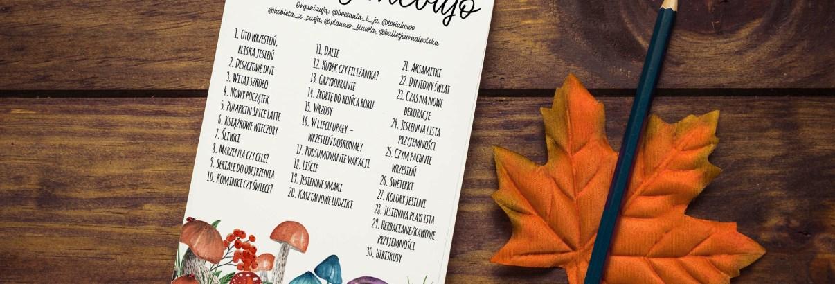 Jesienny klimat, czyli #kreatywnebujo na wrzesień
