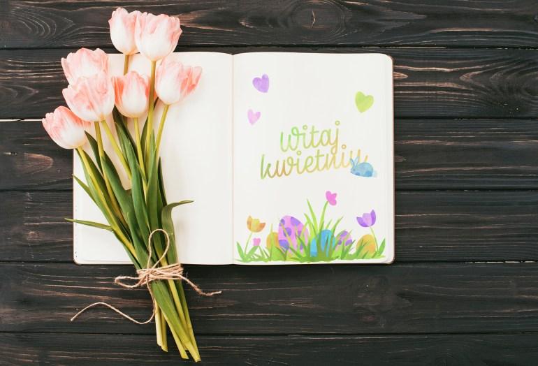 Kwietniowy pakiet startowy bullet journal