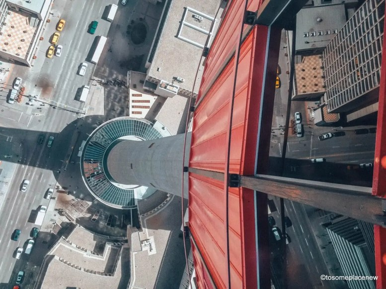 View from Calgary Tower