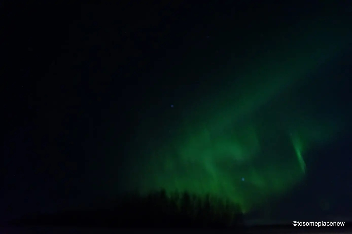 Northern Lights in Alberta