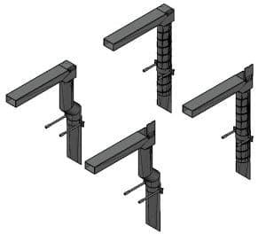 橋梁用横引排水装置 TSDR-YD401