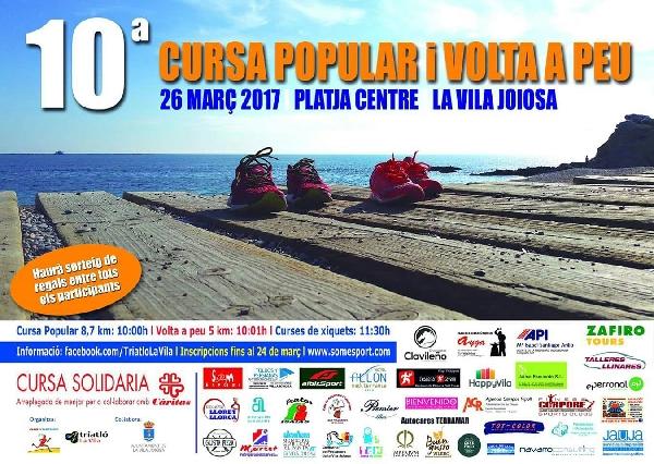 10ª Cursa Popular i Volta a Peu a La Vila Joiosa -26 març 2017