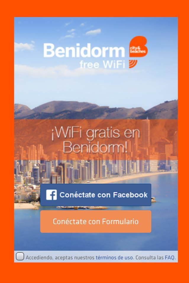 Benidorm free wifi gratis