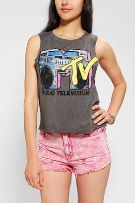 MTV Boom Box Muscle Tee
