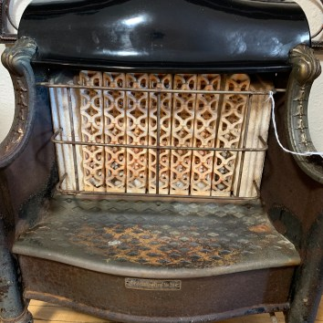 Vintage Gas Fire Place Insert
