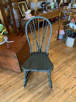 Barrel Back Rocking Chair