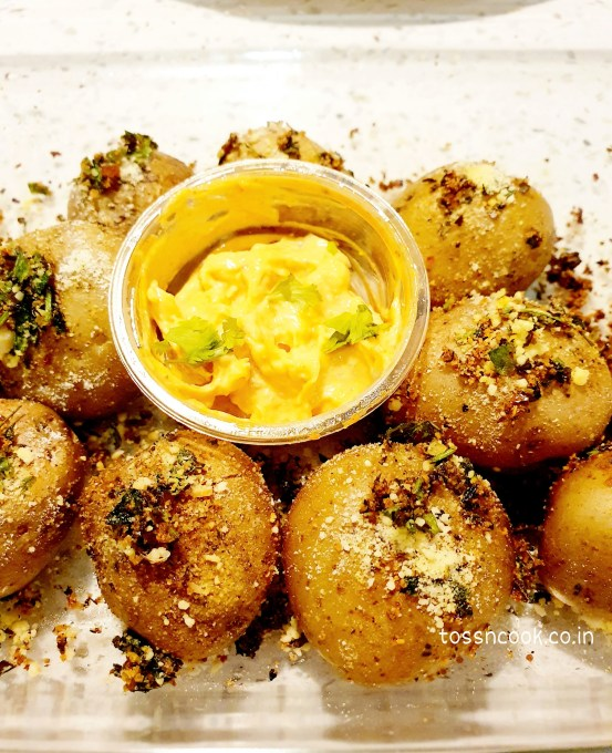Baked Garlic Potatoes