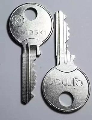 Ojmar standard coin lock keys