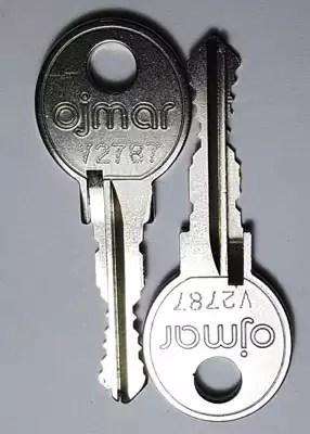 Ojmar V series key cutting