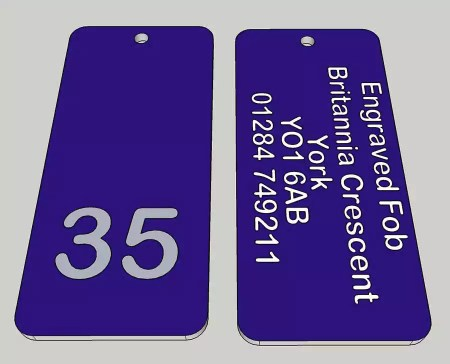 Engraved laminate products on a next day