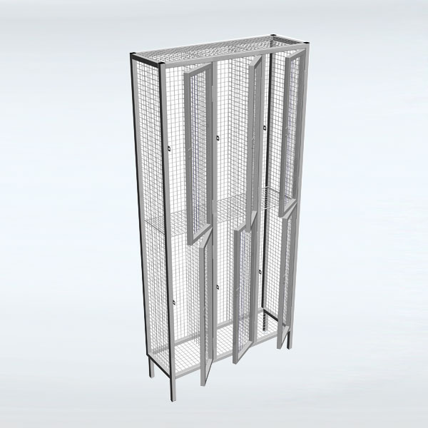 Industrial Wire Mesh Lockers