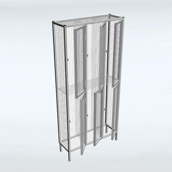 Industrial Wire Mesh Lockers