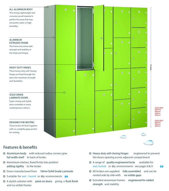 laminate locker