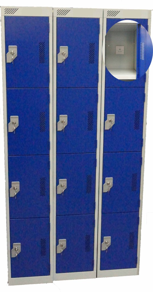 appliance charging lockers