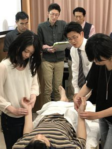 鍼治療によって脈が変わることを確認