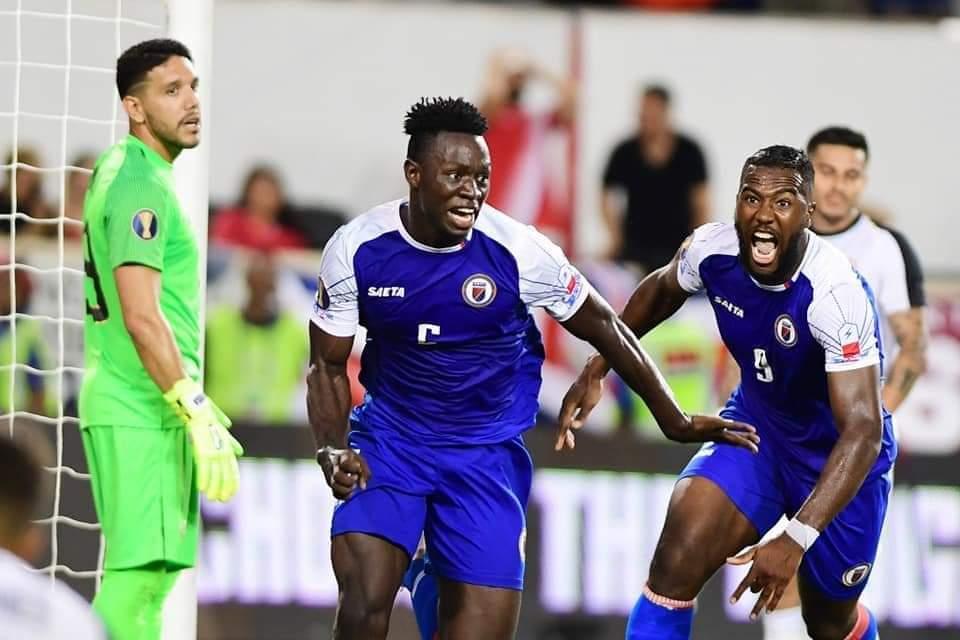 Gold Cup 2019: Cyclopéenne victoire D'HAÏTI qui arrache la première place aux Costaricains dans le groupe B.