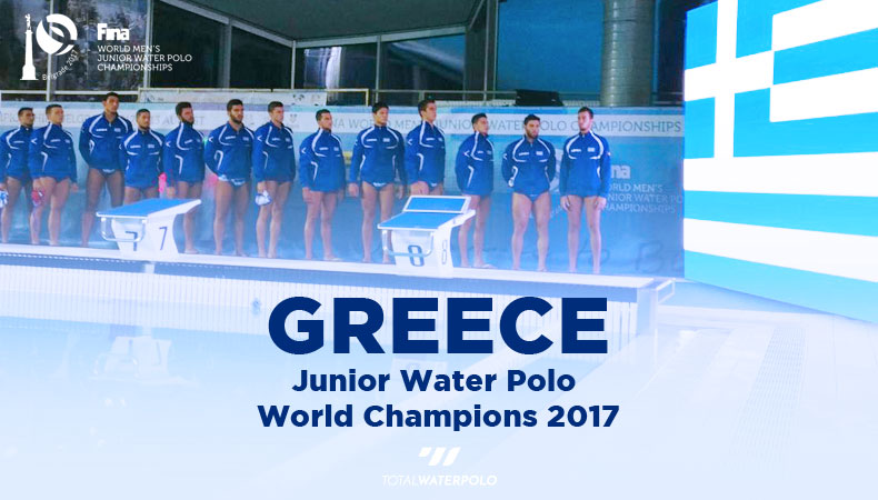 Greece Water Polo World Champions Greece Belgrade 2017