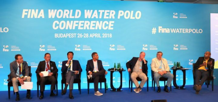 Water Polo Conference, Day 1: 224 delegates from 107 nations respond present