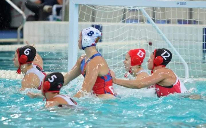 FINA Women's Water Polo Super Final — Day 1
