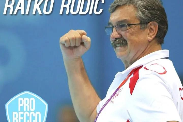 Ratko Rudic Is Pro Recco's New Coach!