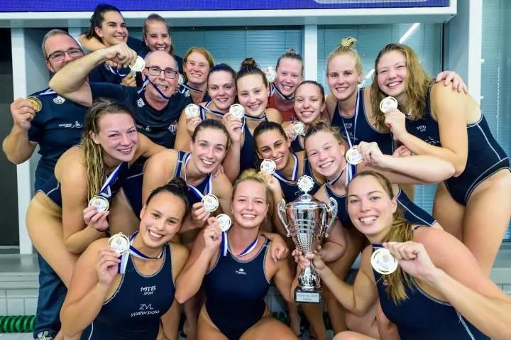 Dutch Water Polo — ZVL-1886 Wins Women's Supercup