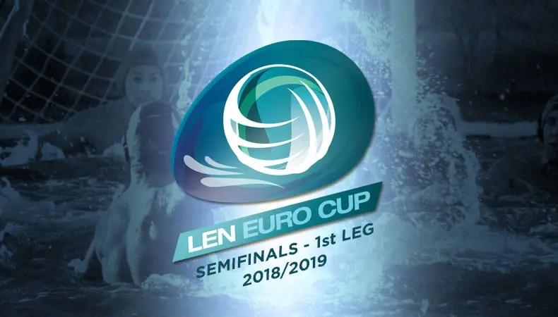 Men's Euro Cup, Semi-finals, 1 st leg – Summary