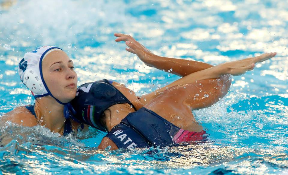 Russia Hungary water polo women