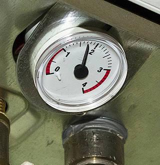 baisser la pression de la chaudiere