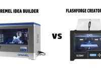 Dremel Idea Builder vs Flashforge Creator Pro