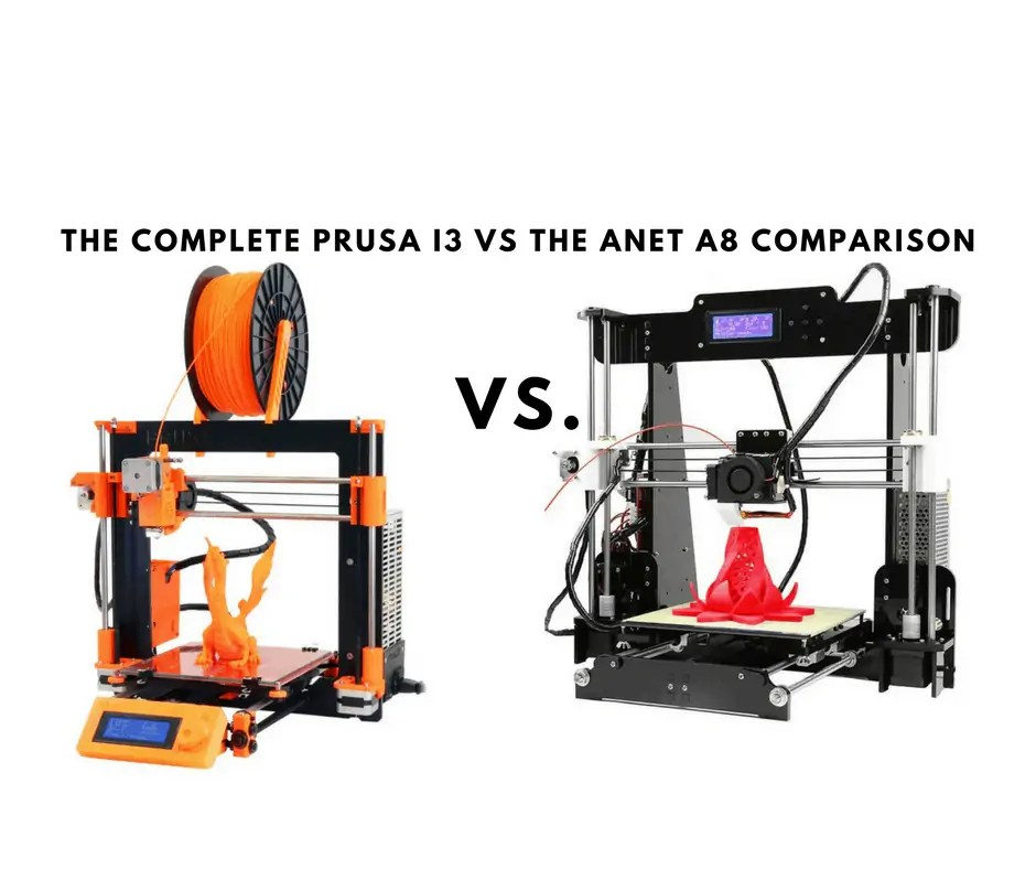 One IS Better: Prusa i3 vs Anet A8 [2019 Edition] - Total 3D
