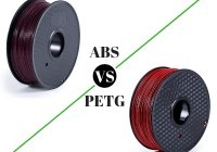 ABS vs PETG 3D Filament