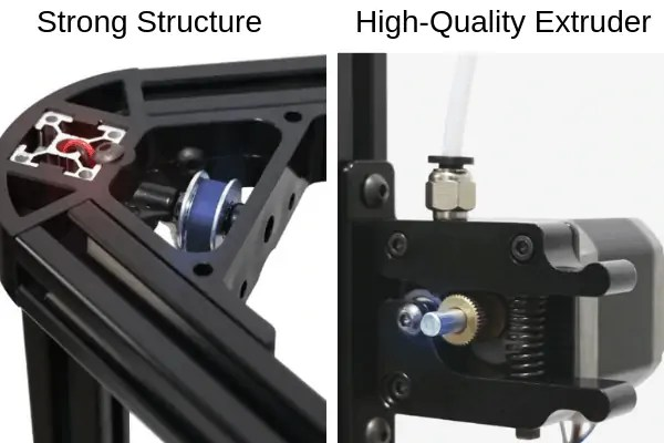 AnyCubic Kossel Delta Structure Extruder