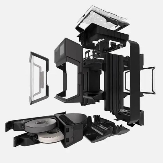 MakerBot Method Assembly Parts