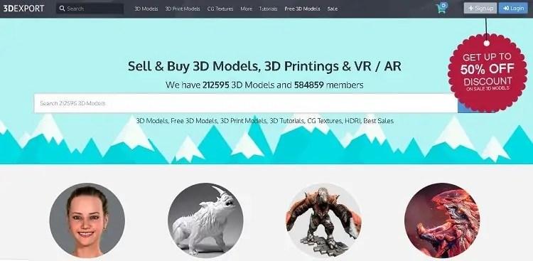 3DExport educational tutorials