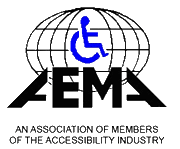 Association of Members of the Accessibility Industry logo