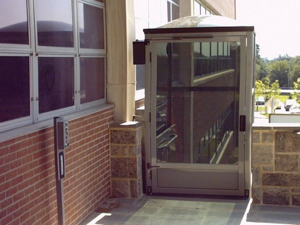 Total Access offers Commercial Vertical Platform Lifts in factory enclosures