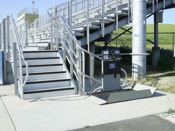 Total Access offers curved inclined platform wheelchair lifts