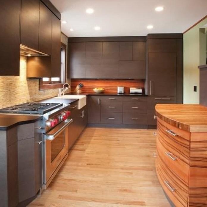 desain lemari dapur terbaru