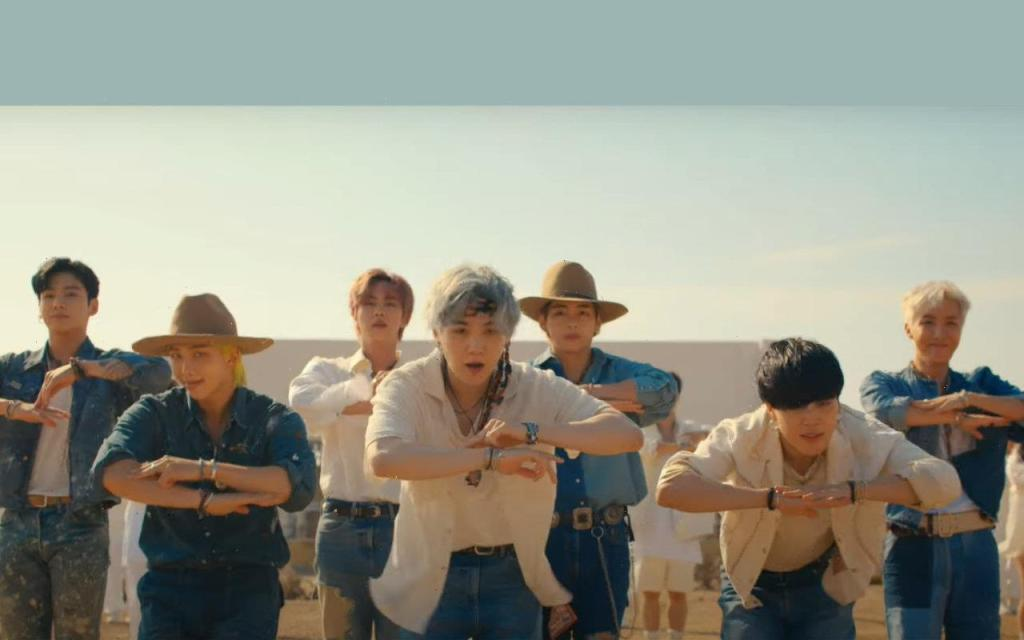BTS Heats Up the Desert in Music Video for New Song ...