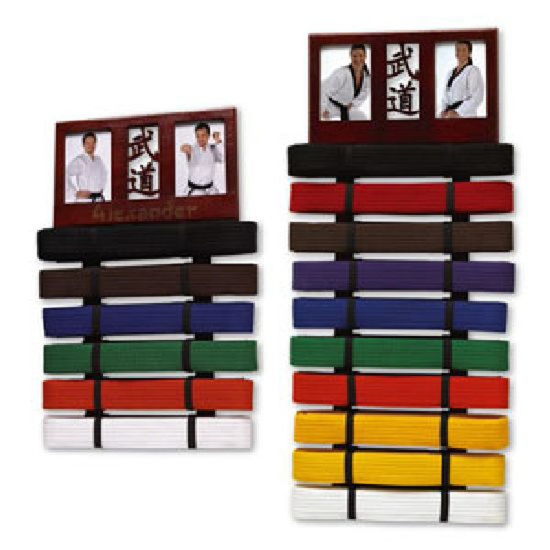 Martial Art Photo Frame Belt Display hold up to 10 belts now at TCsports