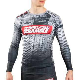 SCRAMBLE TOSHI RASH GUARD