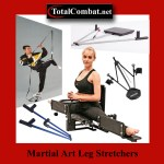 Martial art leg stretchers