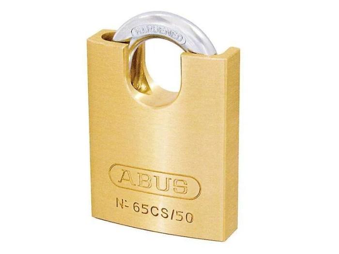Abus-Premium-Padlock-Brass-65CS-Series-50mm