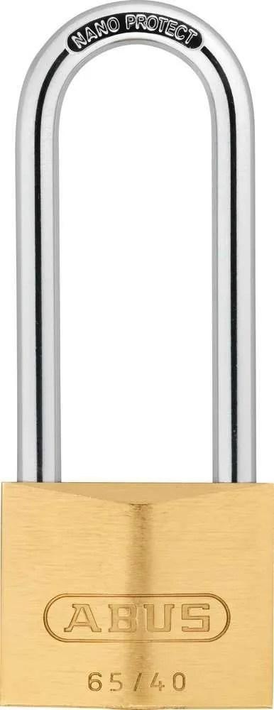 Abus-Premium-Padlock-Brass-65HB-Series-40x63mm