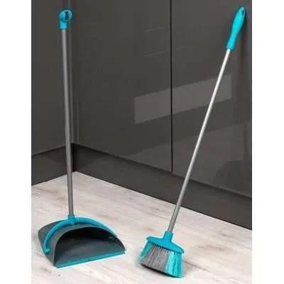 Beldray-Long-Handle-Dustpan-Broom-Set